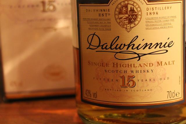 Dalwhinnie 15 years old