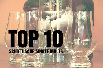 TOP 10 Schottische Single Malts