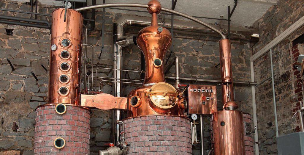 Märkische Spezialitäten Brennerei - Destillieranlage