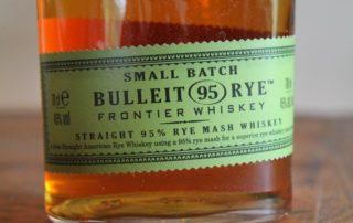 Bulleit Rye Frontier Whisky Ettikett