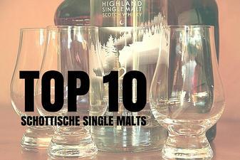 TOP 10 Schottische Single Malts