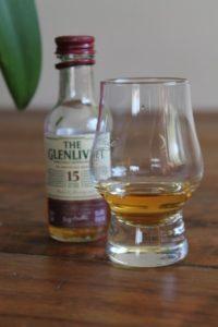 Glenlivet mit Flasche