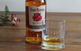 Four Roses im Glas