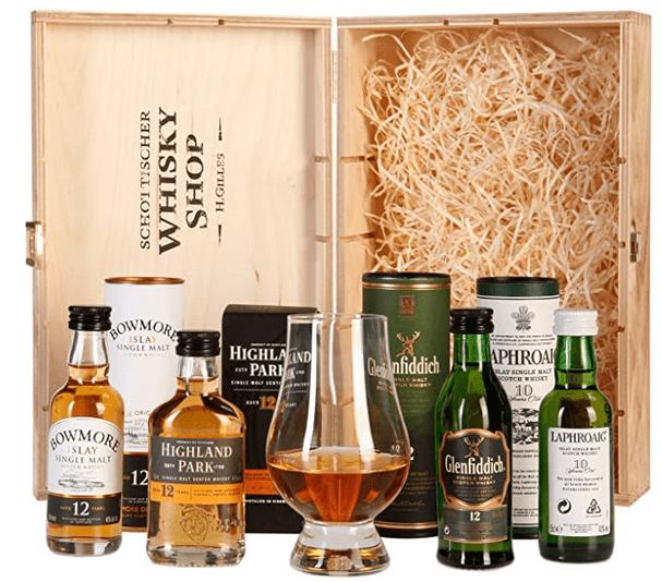 Whisky Probier- und Geschenksets